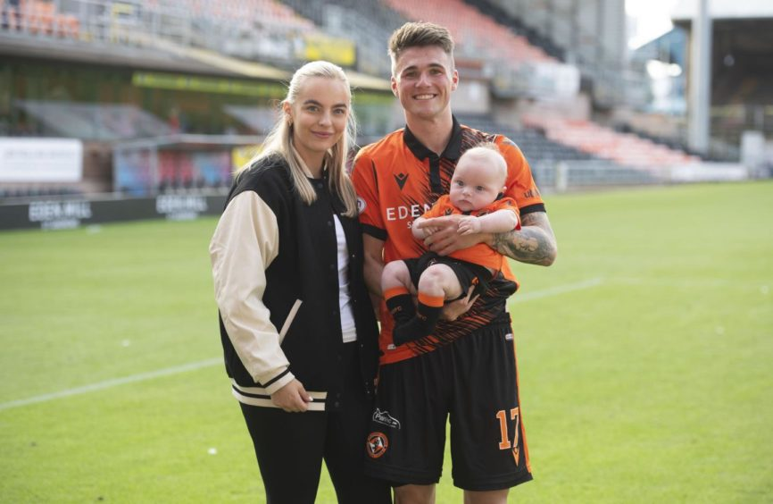 Jamie Robson can't wait to welcome his girlfriend Holly and son Reuben to Lincoln