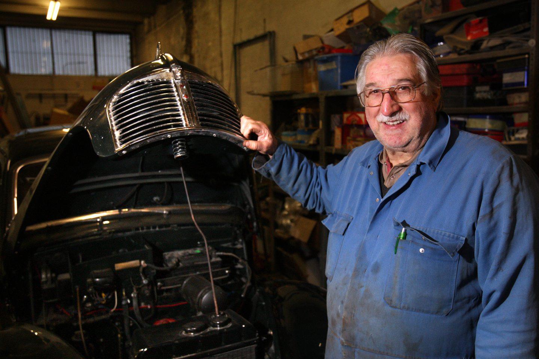 Brian Clark has serviced the Dundee Rover since 1972.