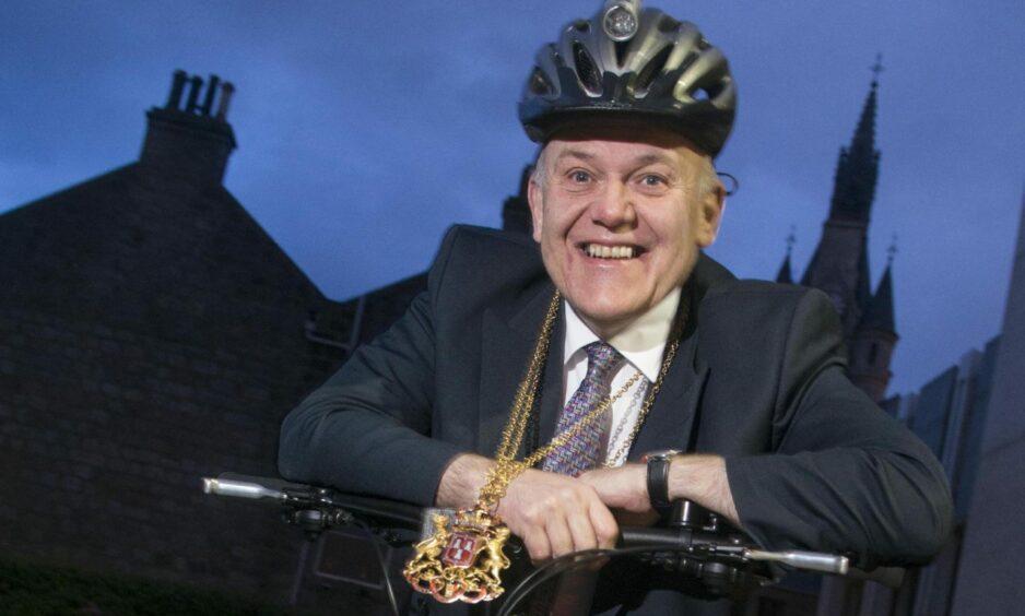 Aberdeen's bike-sharing scheme has taken its name from Lord Provost Barney Crockett