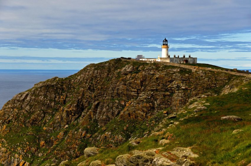 Barra Head Lighthouse on a calm day. Picture byIan Cowe.