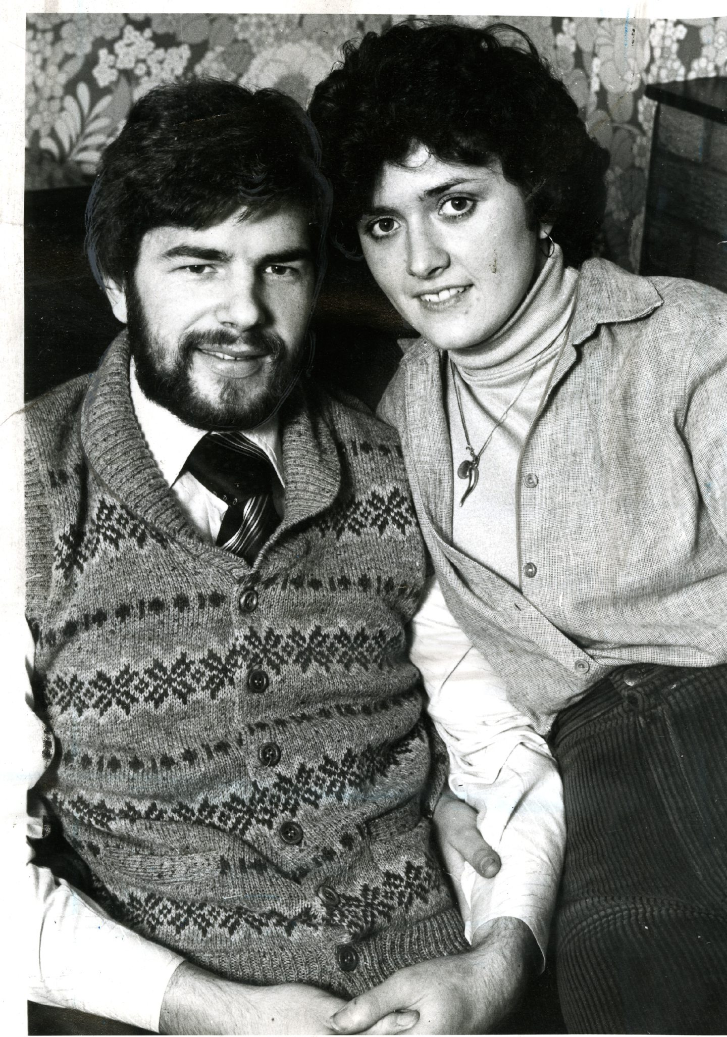 Doug Wilkie and his wife Maureen in 1983.