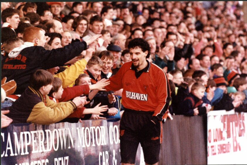 Ferreyra was a favourite with the fans during his time at Tannadice.