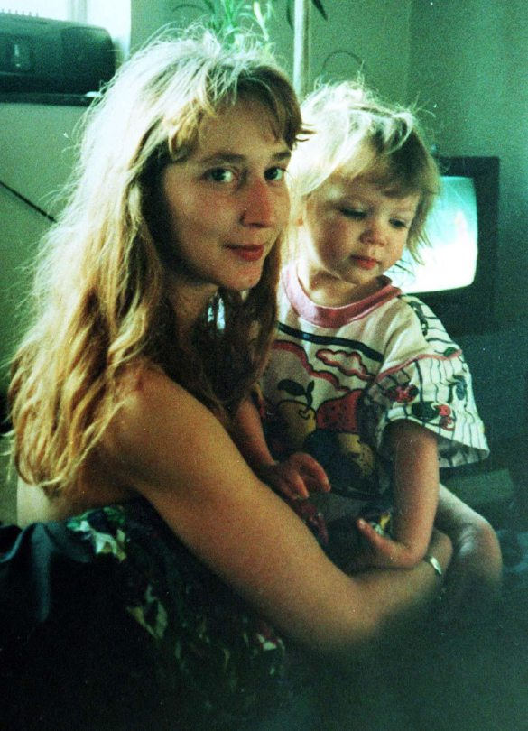 Samantha Bissett and her four-year-old daughter Jazmine, whose bodies were discovered at their flat in Plumstead, south London in November 1993.