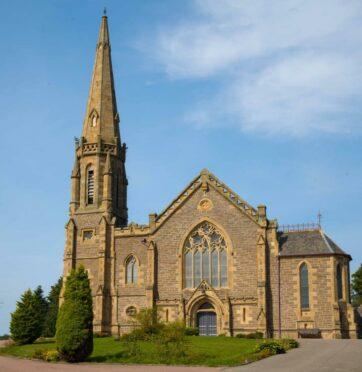 Lochee Parish church 150