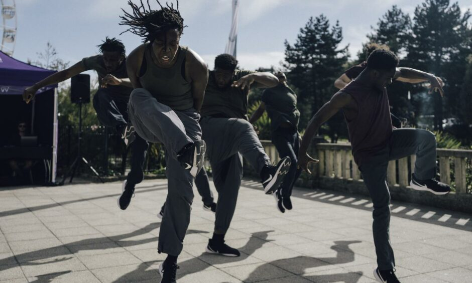 Born to Protest from Just Us Dance Theatre will be part of Aberdeen's DanceLive festival.