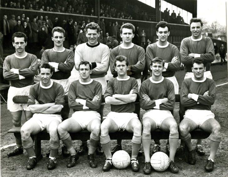 Sir Alex Ferguson in his St Johnstone days in 1963.