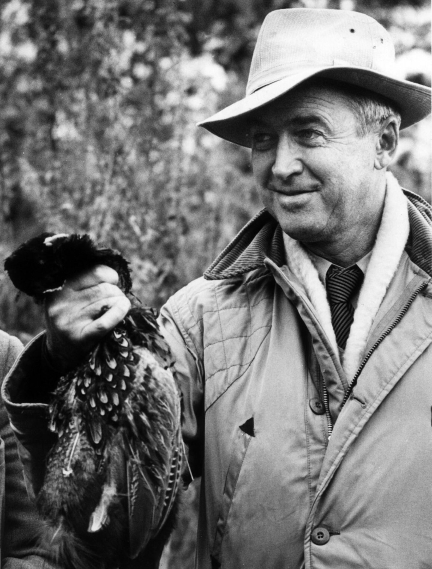 Hollywood star James Stewart was relaxed during a holiday on Deeside in 1959.