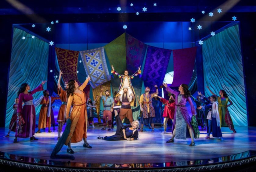 A scene from Joseph And The Amazing Technicolor Dreamcoat.