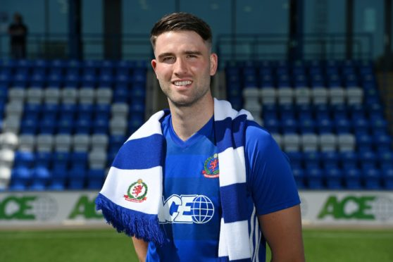 Morgyn Neill joined Cove Rangers in the summer.