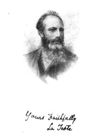 La Teste was a noted Moray poet in the latter half of the 19th Century.