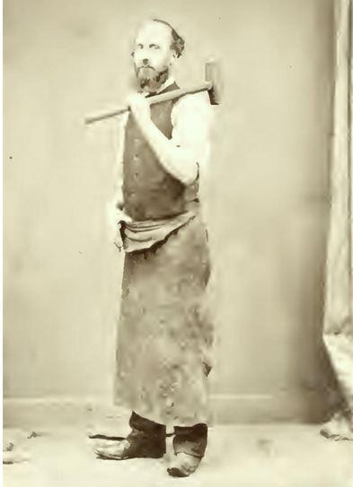 'Hammerman' and poet William Hay Leith Tester achieved fame as the poet La Teste.