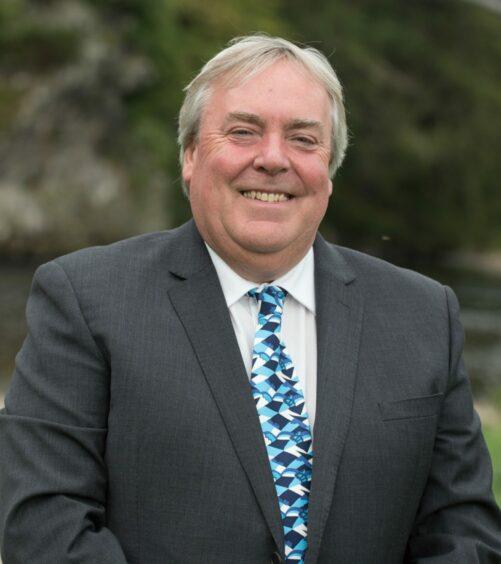 VisitScotland chief executive Malcolm Roughead.