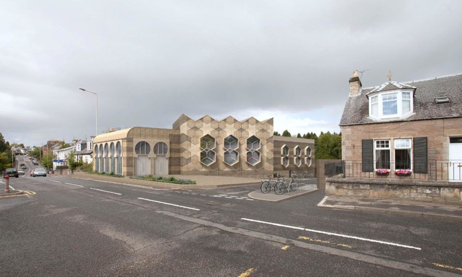 How the mosque could look.