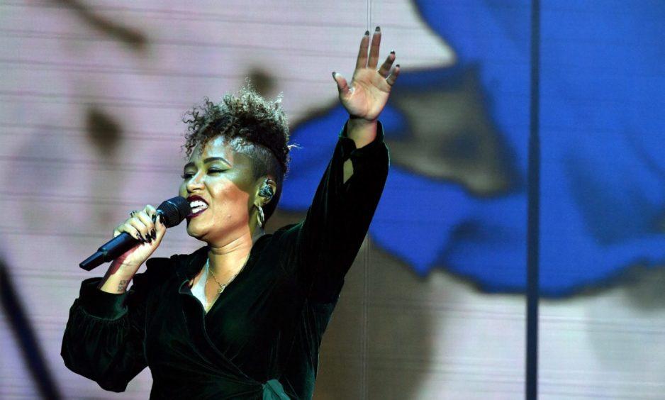 Emeli Sande in concert at the former AECC in 2014.
