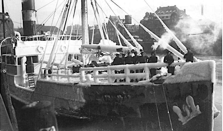 The Rubislaw was used to travelling in rough winter conditions.