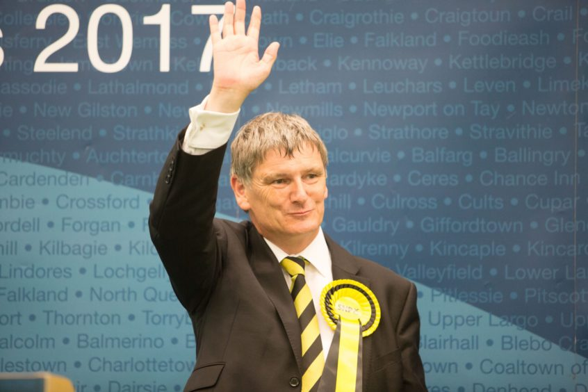 Glenrothes MP Peter Grant