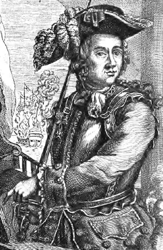 Admiral Forbin was involved in a secret plan to invade Scotland.