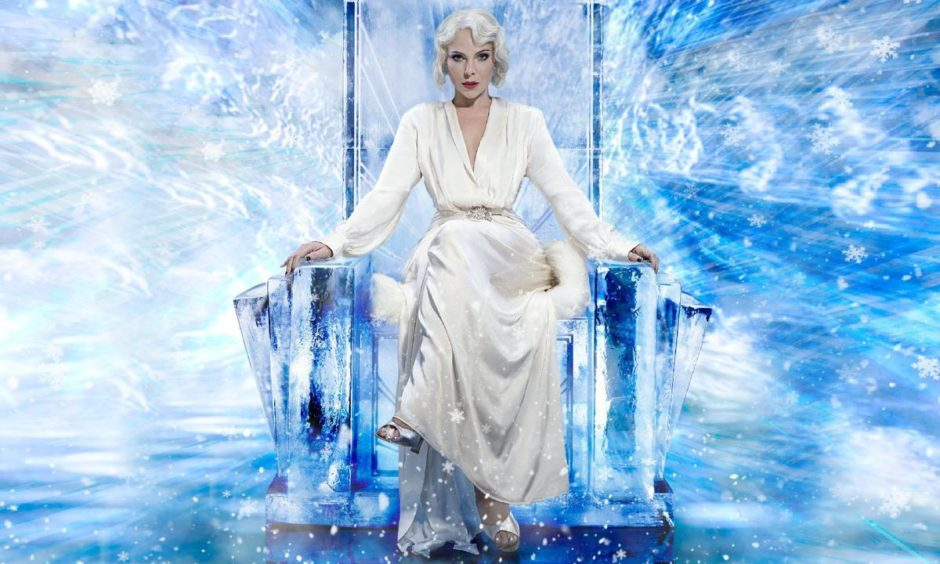 Ice cold and evil... Samantha Womack will star as the White Witch at His Majesty's.
