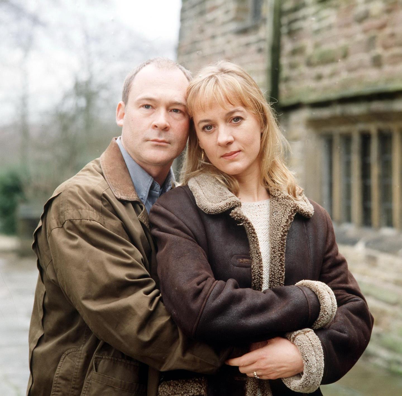 Ewan alongside Niamh Cusack in Little Bird, which aired on ITV in 2000.