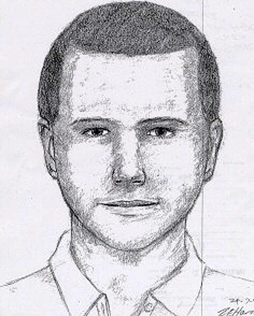 An efit released following the murder of Rachel Nickell in 1992.