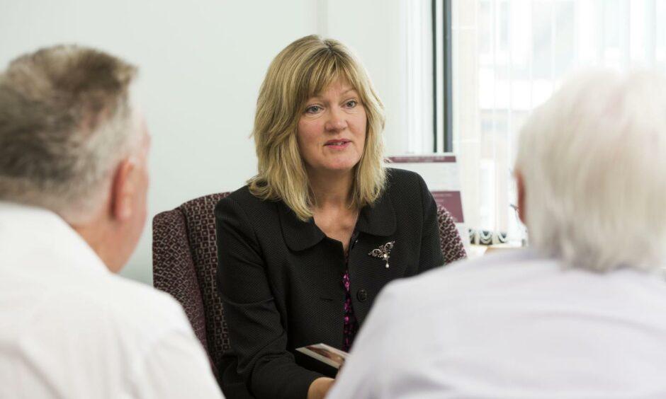 Crosbie Matthew funeral firm managing partner Sheila Matthew.