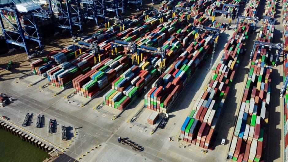 Felixstowe port