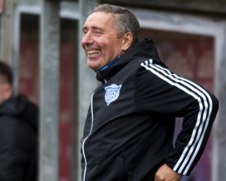 Jim McInally marks 10 years in charge of Peterhead on Thursday.