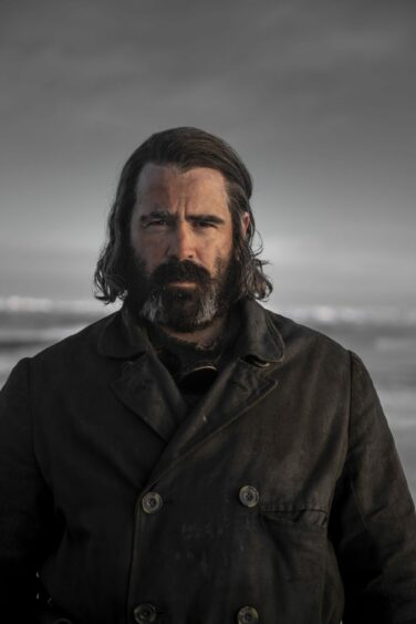 Colin Farrell stars as Henry Drax in the BBC series about whaling, The North Water.