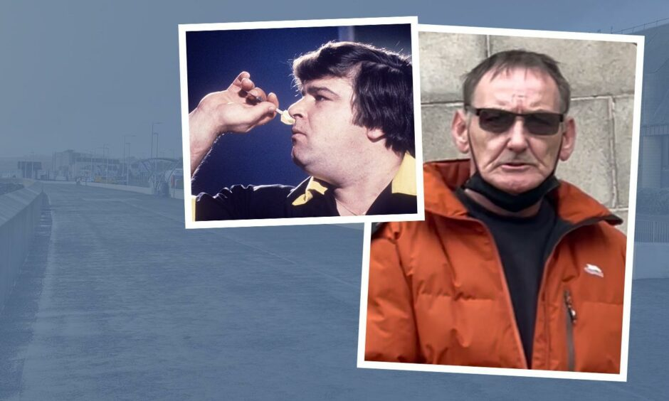 Jocky Wilson's former driver Kenneth Lonie drove carelessly on Kirkclady Esplanade.