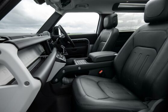 The all leather interior