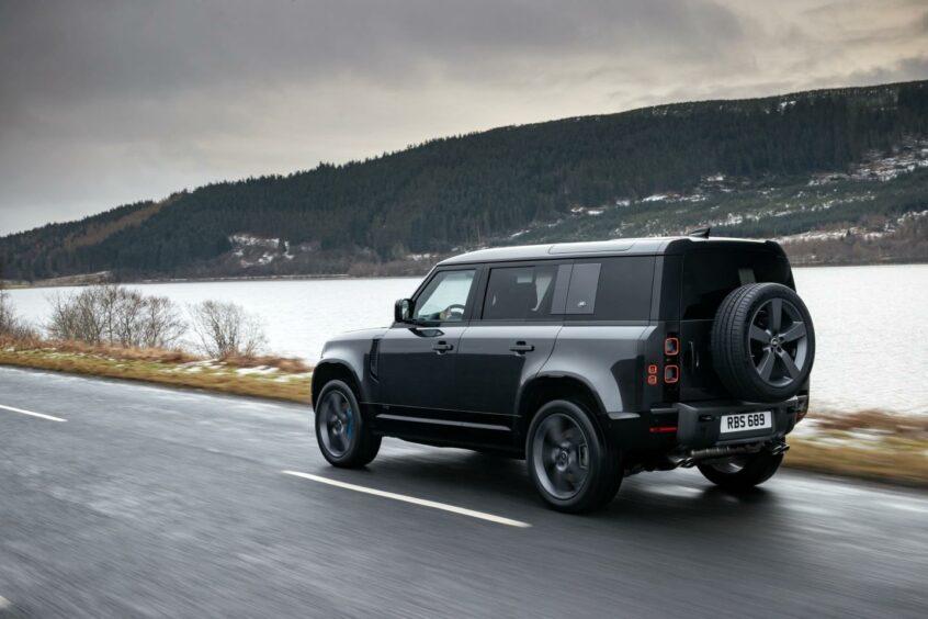 Land Rover Defender V8 starts at £98,575
