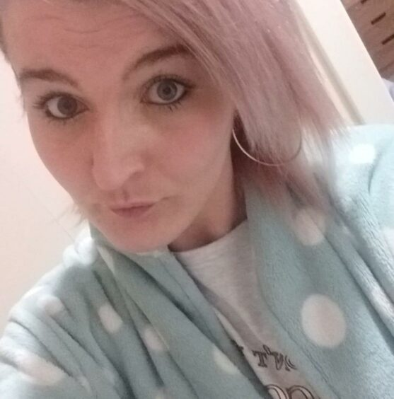 Selfie of Pauline Mcphail, who died in a fire at her home in Forfar