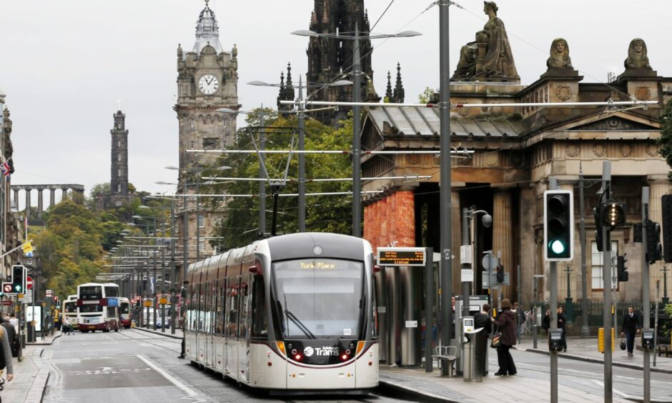 Bringing trams back to the streets of Edinburgh went far from smoothly. Photo by Danny Lawson/PA Wire.