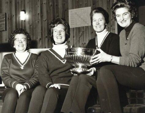 Isobel Ross campion curler