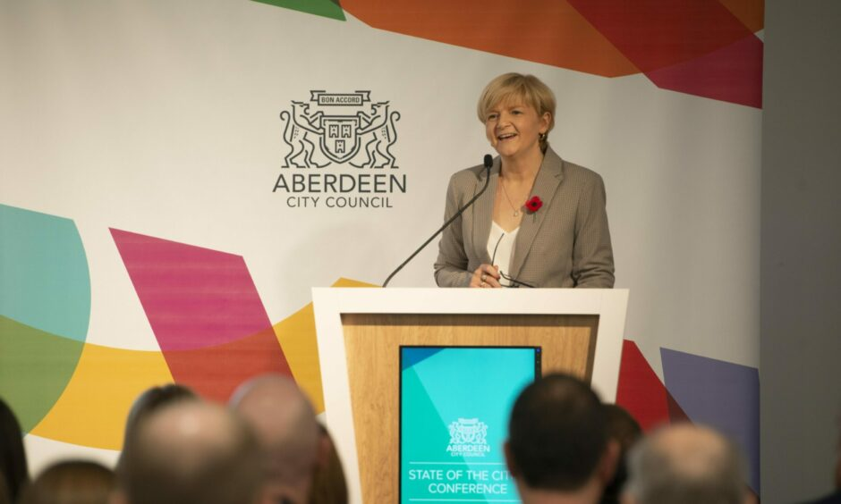 Council leader Jenny Laing has said her Aberdeen Labour group will not support bringing trams back. Photo: Aberdeen City Council