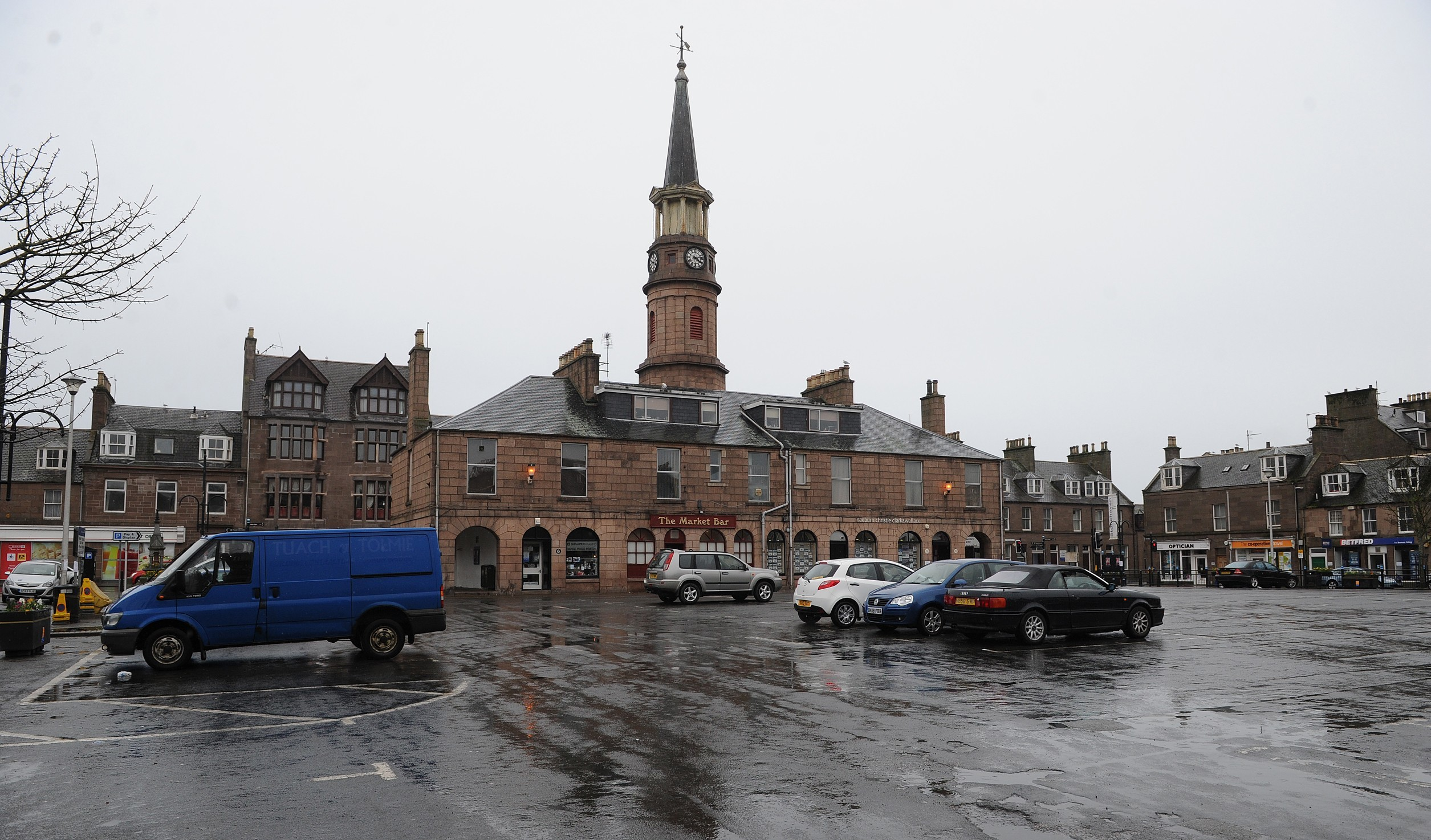 There are concerns the development will see businesses in the town centre suffer.