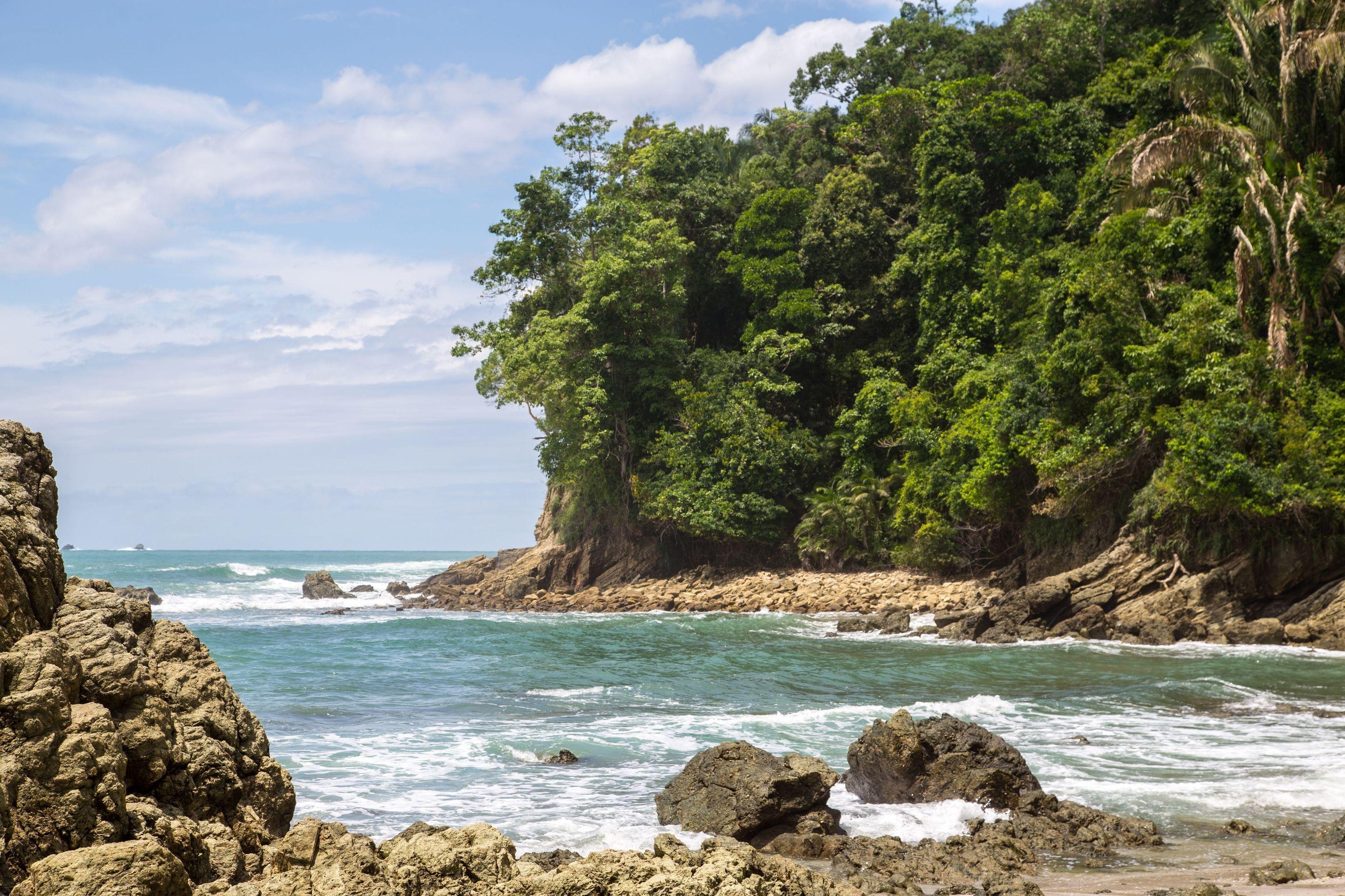 Photo of the Manuel Antonio National Park.
