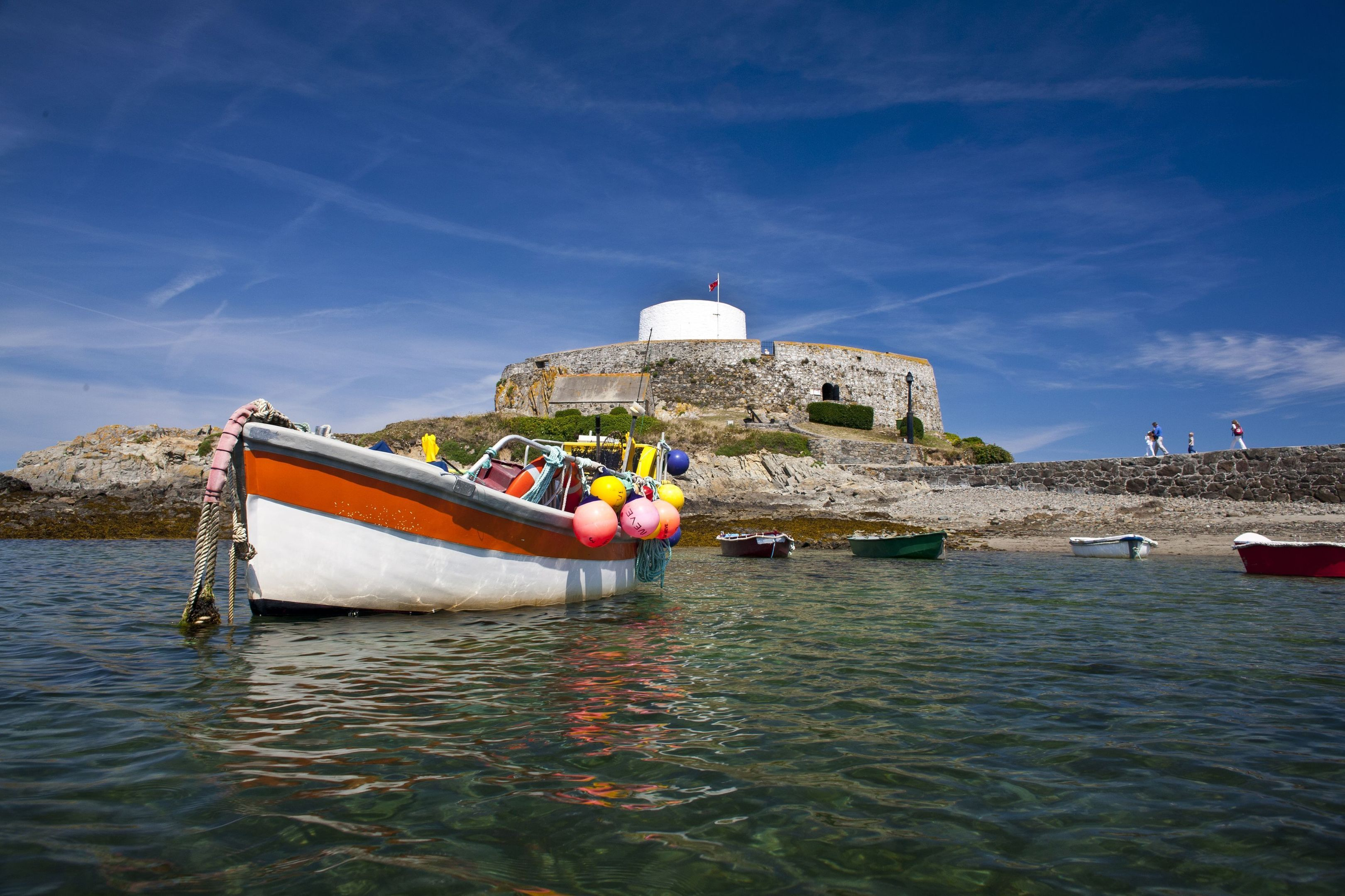 Fort Grey, Guernsey.