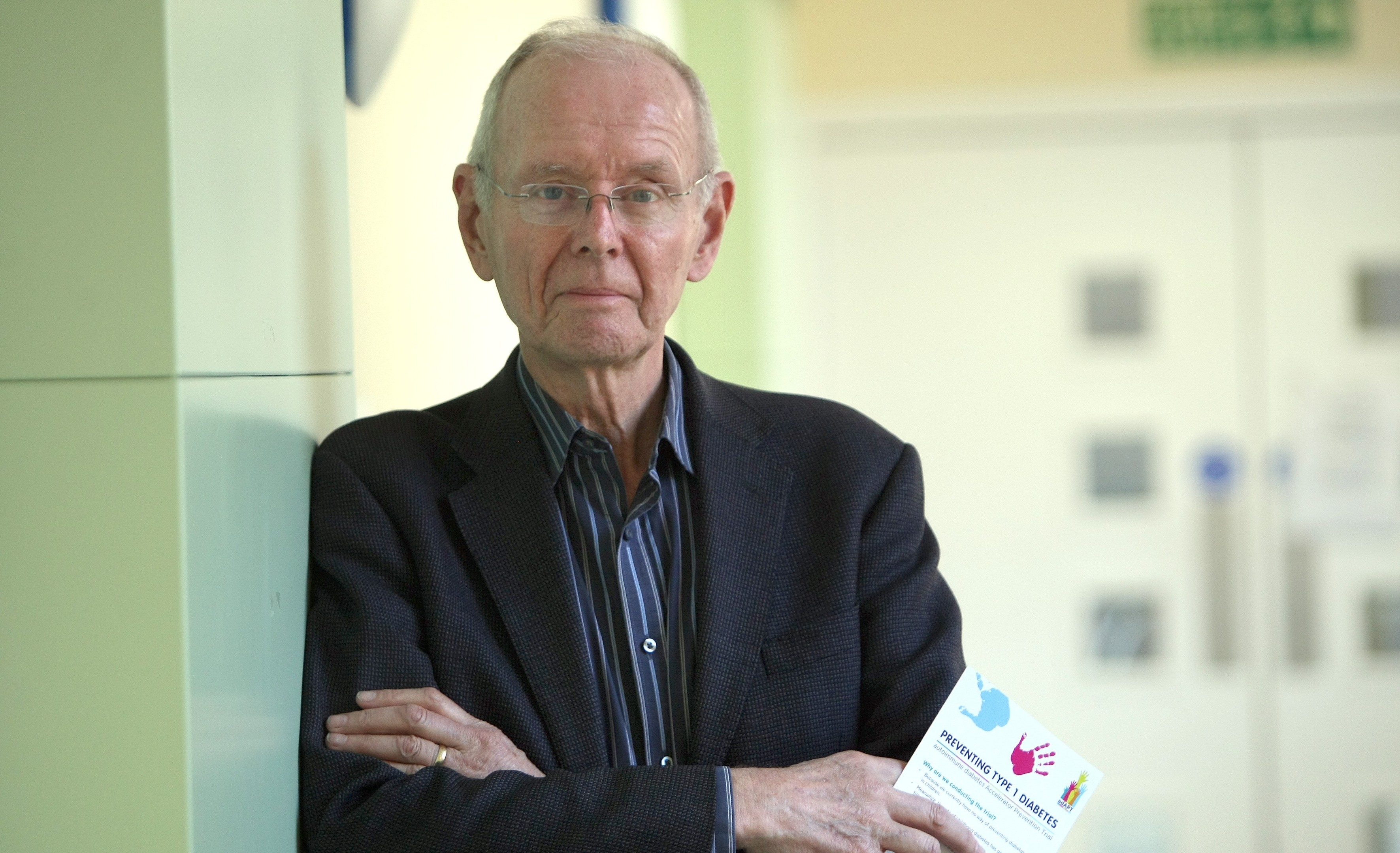 Professor Terence Wilkin is leading the new trial.