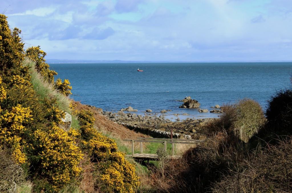 2. Emerging from Kittock's Den on to the coast - James Carron.jpg (1)