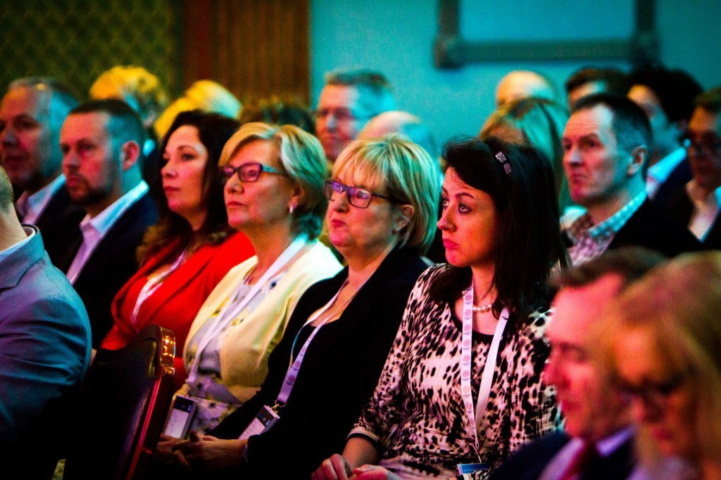 Some of the attendees at Entrepreneurial Scotland.