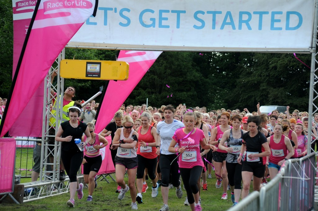 This year's Race for Life will take place at Camperdown Park this summer.