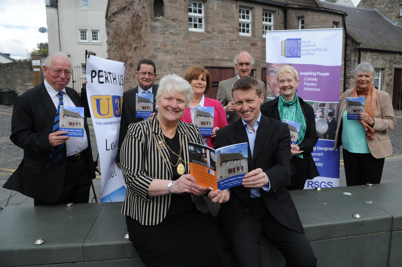 The Fair Maid's House booklet launch.