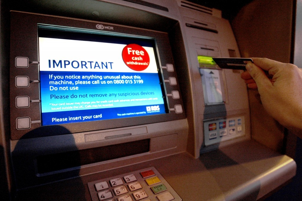 A senior Conservative has suggested getting rid of cash machines.