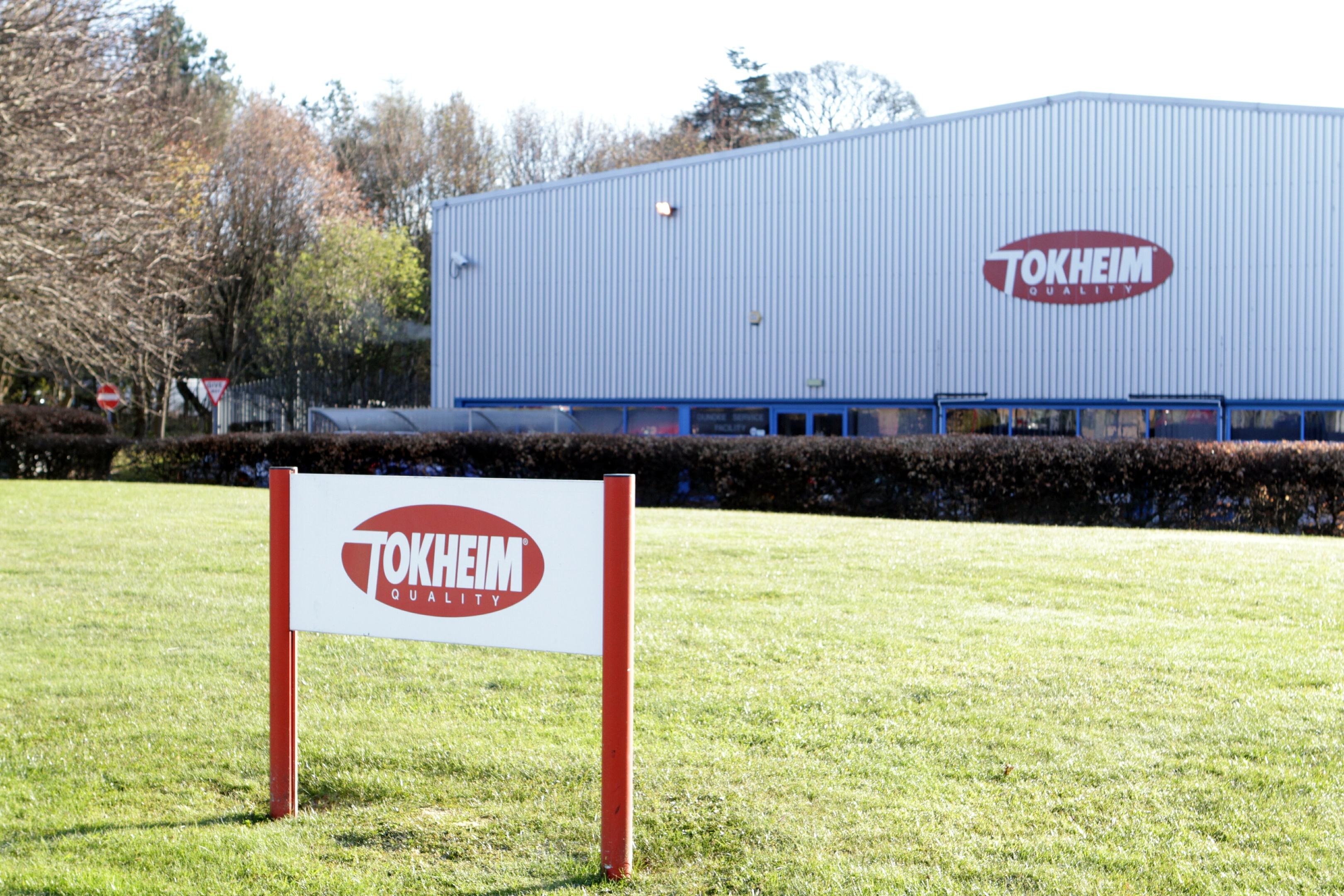 The Tokheim plant in Dundee.