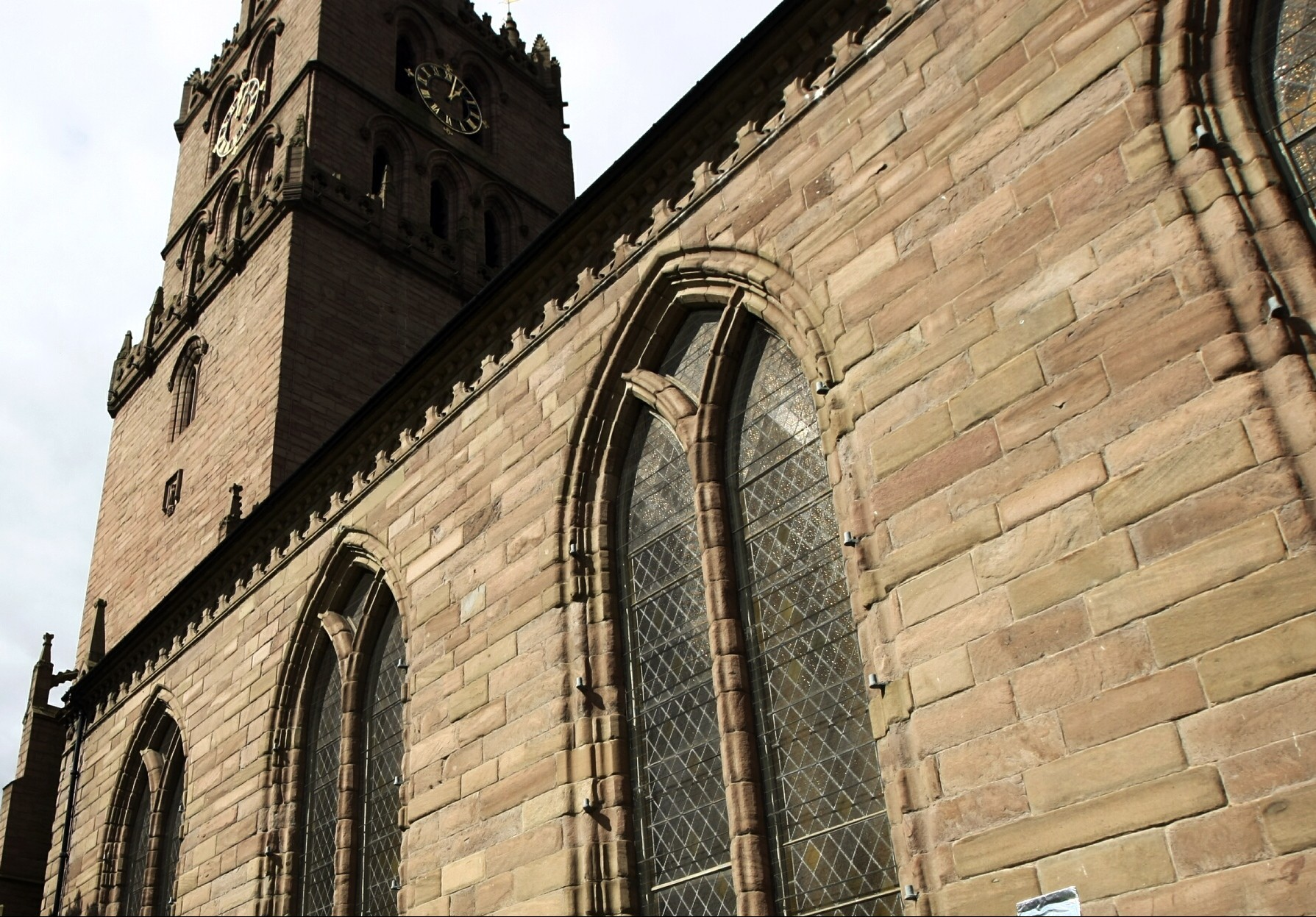 The Steeple Church in Dundee.