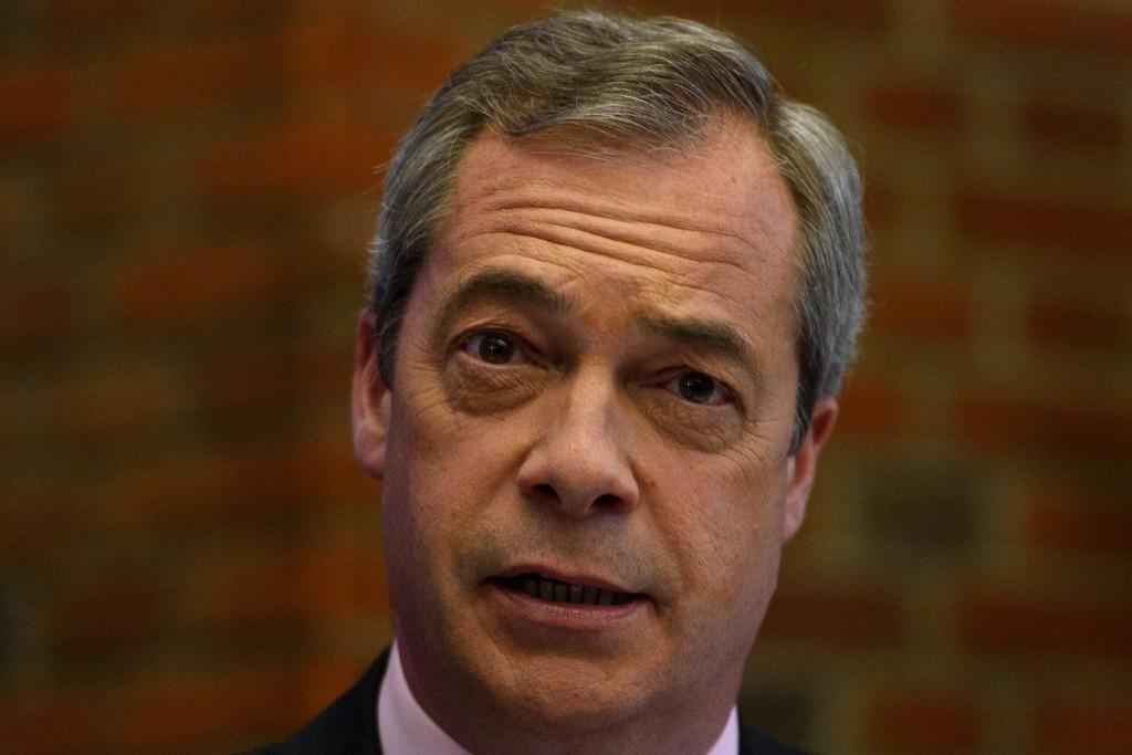 Ukip Leader Nigel Farage  has backed David Coburn despite calls for him to quit.
