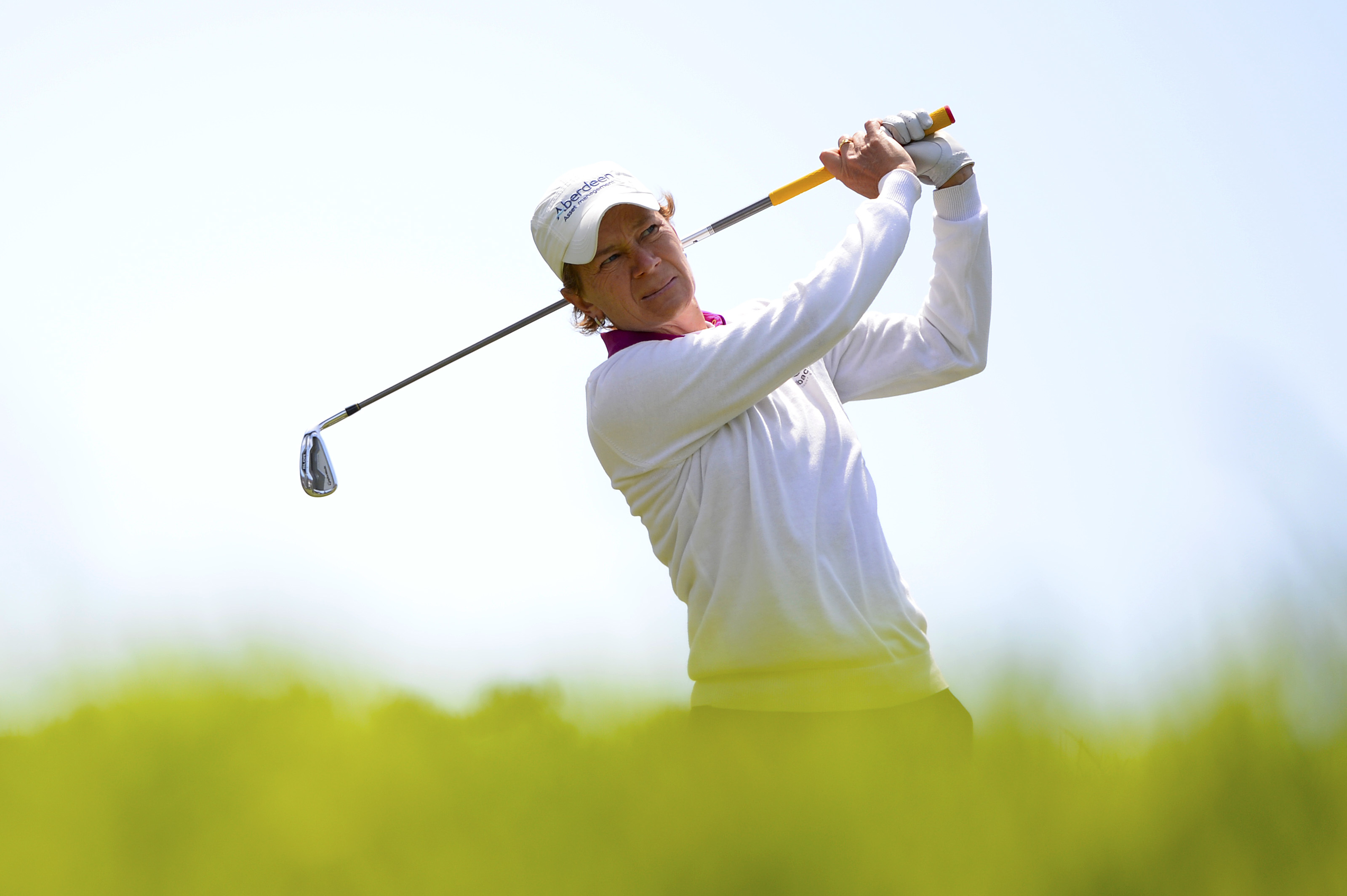 Catriona Matthew during the final round of the Swinging Skirts LPGA Classic.