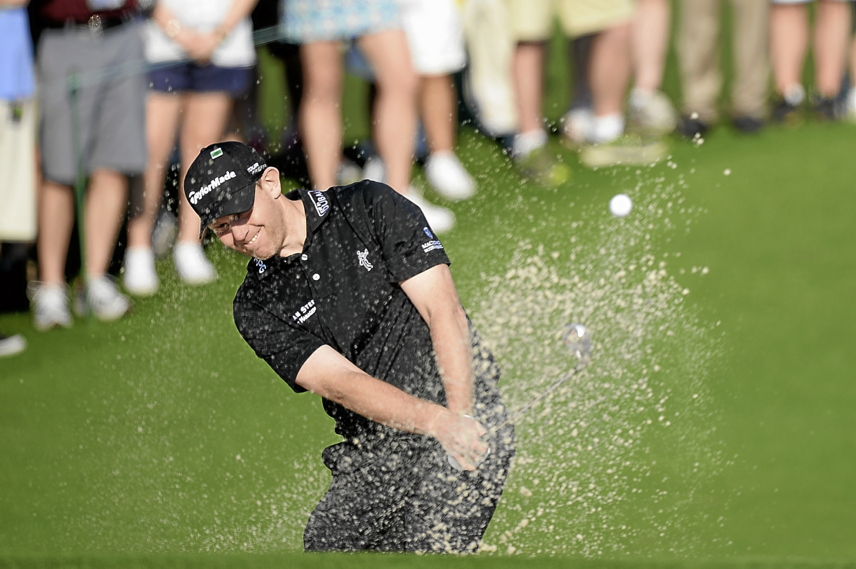 Stephen Gallacher is out for two weeks and may miss the Scottish Open.