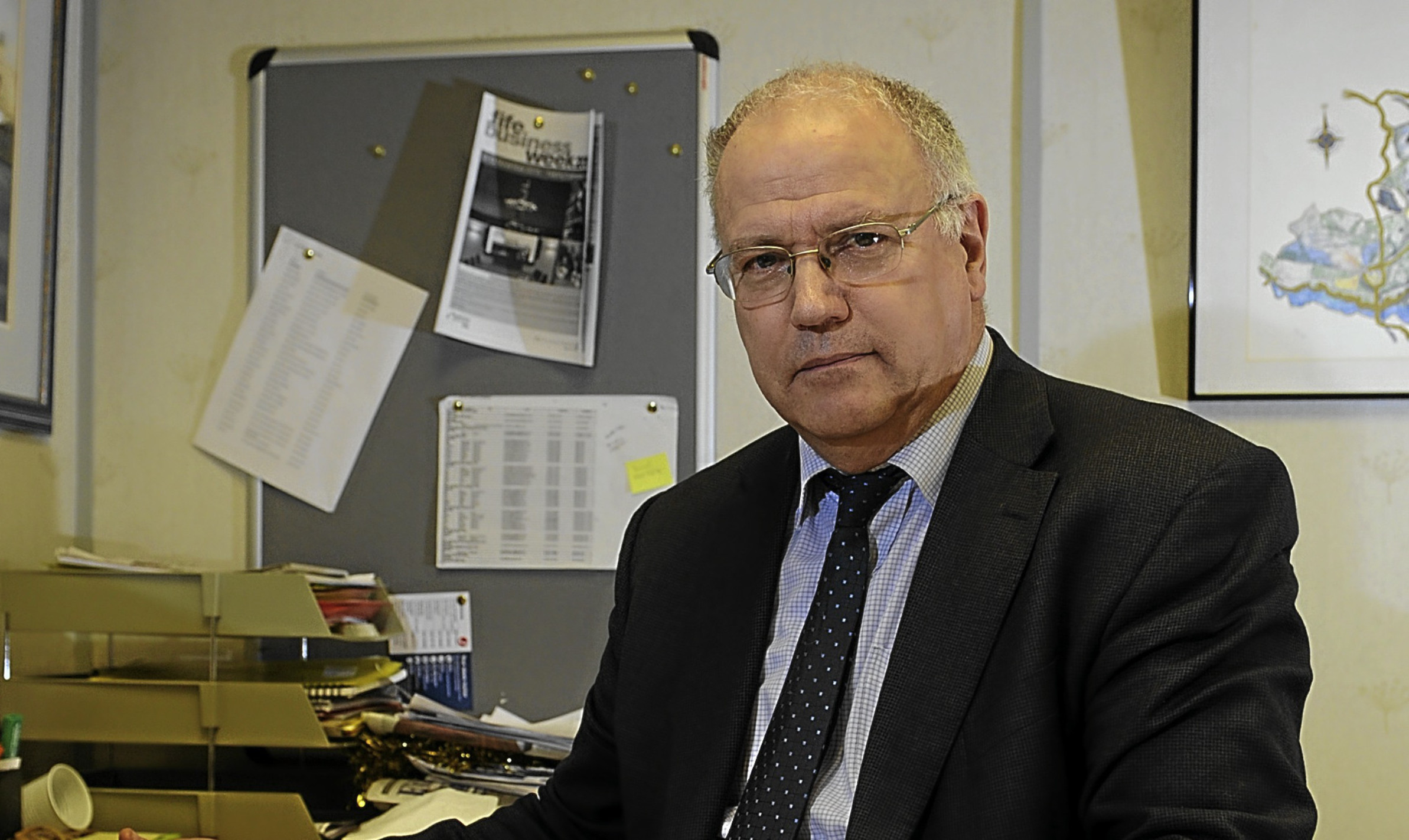 Fife Council leader David Ross.